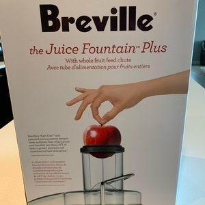Breville juicer.